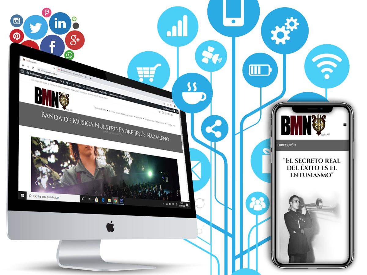 BMNazareno ya está en la red!